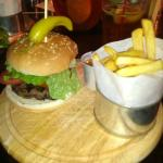 Lamb Kofta Burger