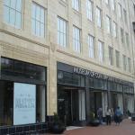 Entrance to MOCA, overlooking the giftshop and Cafe Nola