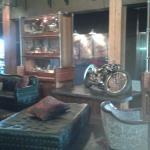 Lobby of the Iron Horse Hotel