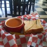 Wonderful sandwiches & soup from Cane Break