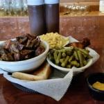 Burnt ends Mac and Cheese Green beans, awesome!   Hurstbourne location