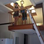Kids love the loft apartment
