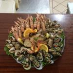 Jardim Rustico Seafood Platter (or part of)