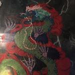 Dragon mural!
