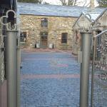 Foto van bistro in de distilleerderij