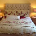 One of the Bed rooms at Tullybryan House