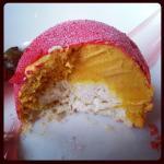 Pumpkin Ice Cream Bombe