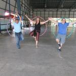 Hula Hoop class with Profe Marty is a Blast of Buena Vibra that will give you flatter abs in min