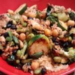 Veggies, Chicken & Fried Rice