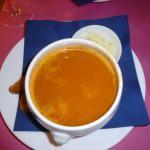 soupe de poissons hyper salée