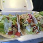 Kylling taco