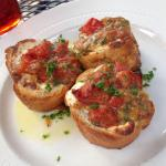Bruschetta. Only thing good there.