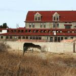 Side view of Inn