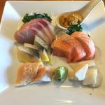 Mixed sashimi.
