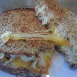 ooey-gooey GRILLED CHEESE