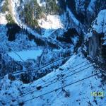 Dolna stacja kolejki na lodowiec