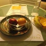 finished fresh mango instantly!!