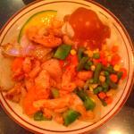 Valentine supper - my favorite - Stir Fry Chicken!