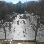 Plaza Bib-Rambla desde balcón habitación