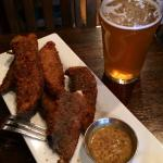 Fried Portobellos & Walldorff Grapefruit Ale