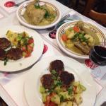 Kefta and Tagine de poulet