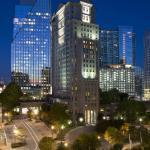 Grand Hyatt Atlanta Night Exterior