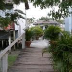 Entrance of Padma Resort