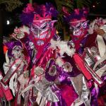 Carnaval night  at Cabarete Beach