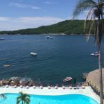 Vista de la Isla la Roqueta desde la habitación.