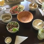 Alguns pratos da rodada
