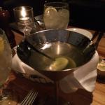 Great Dirty Martini!