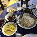 Great dinner, vegetarian curry, 450 per person