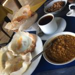Sri Lankan breakfast with Hoppers and Dhal