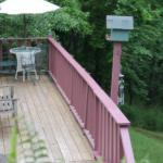 Deck - Tobe Smith Cottage