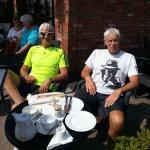 Cyclists like coffee too!