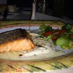 Pan Crisped Salmon Filet
