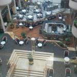 Atrium dining area