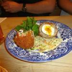 Lovely Scotch Egg with runny yolk