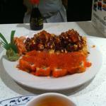 Yoon's Orange Roll and Asian Nachos