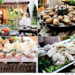 Mama's Meatball performing a wedding catering at Castoro cellars