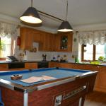 Kitchen with billiards!