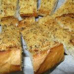 Garlic Bread comes in 1/2 or Full Order.  (half order is approx 10 pieces)