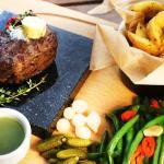 beef steak (amazing.....)