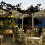 Open Garden Restaurant: night view