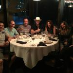 Dinner with friends/business partners at La Montanara