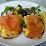 Smoked Salmon & Scrambled Eggs