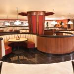 Good choices for seating, a booth or a table perfect for 2 or more.