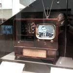 The Kennedy Assassination original broadcast as seen on period technology.