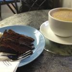 Chocolate fudge cake...
