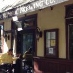 Entrance to Bear Republic Brewery Restaurant - Healdsburg, CA